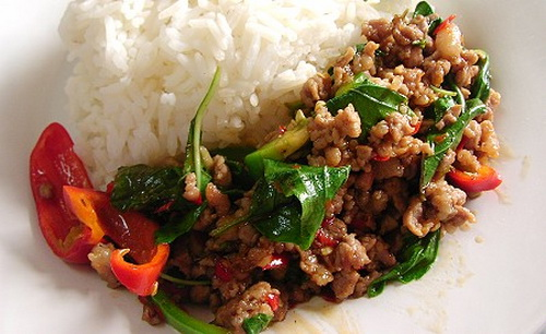 Holy Basil with Chicken