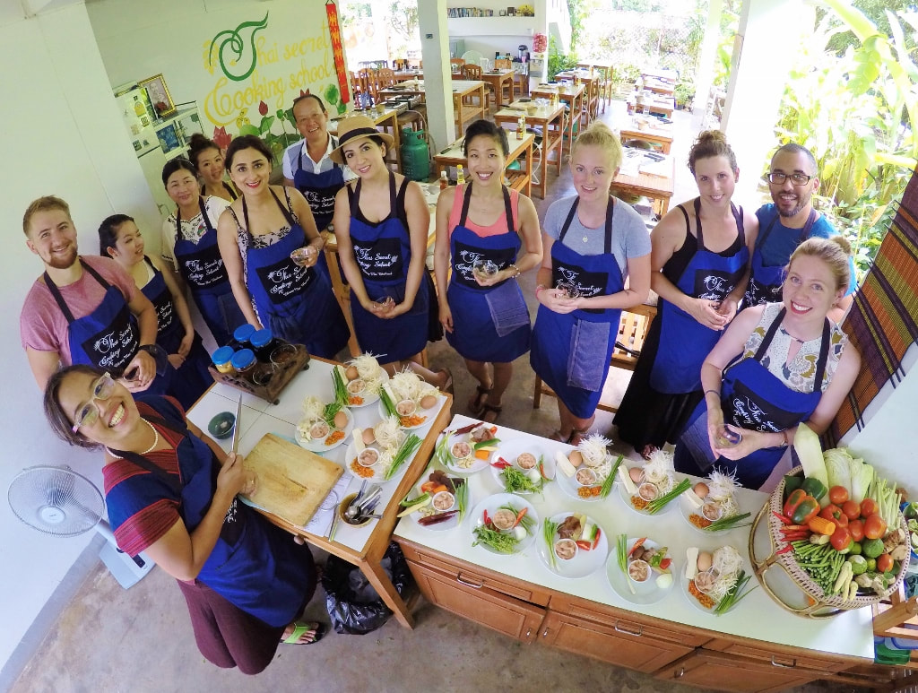 Thai Cooking Class in Thailand. 2017