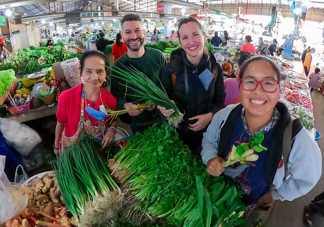 Sam Yeak Thai Market Tour