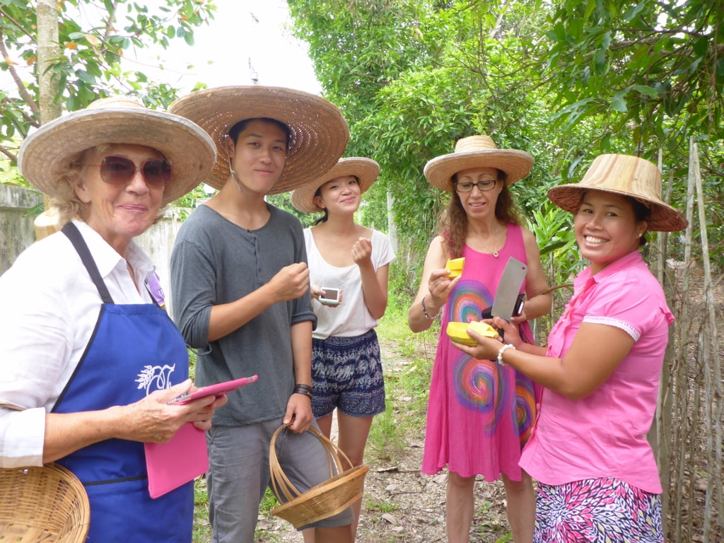 Thai Secret Cooking Class & Organic Garden Farm. August 26th 2018