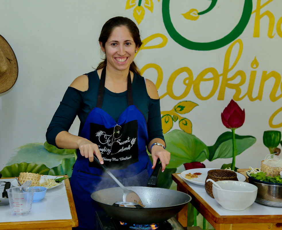 Thai Secret Cooking Class. February 5-2018Picture