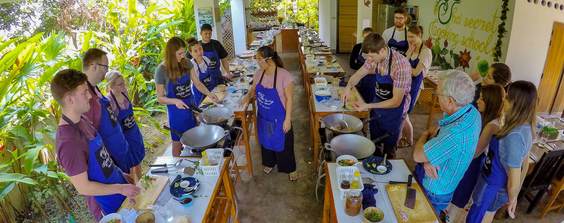 Thai Secret Cooking Class. February 5-2018