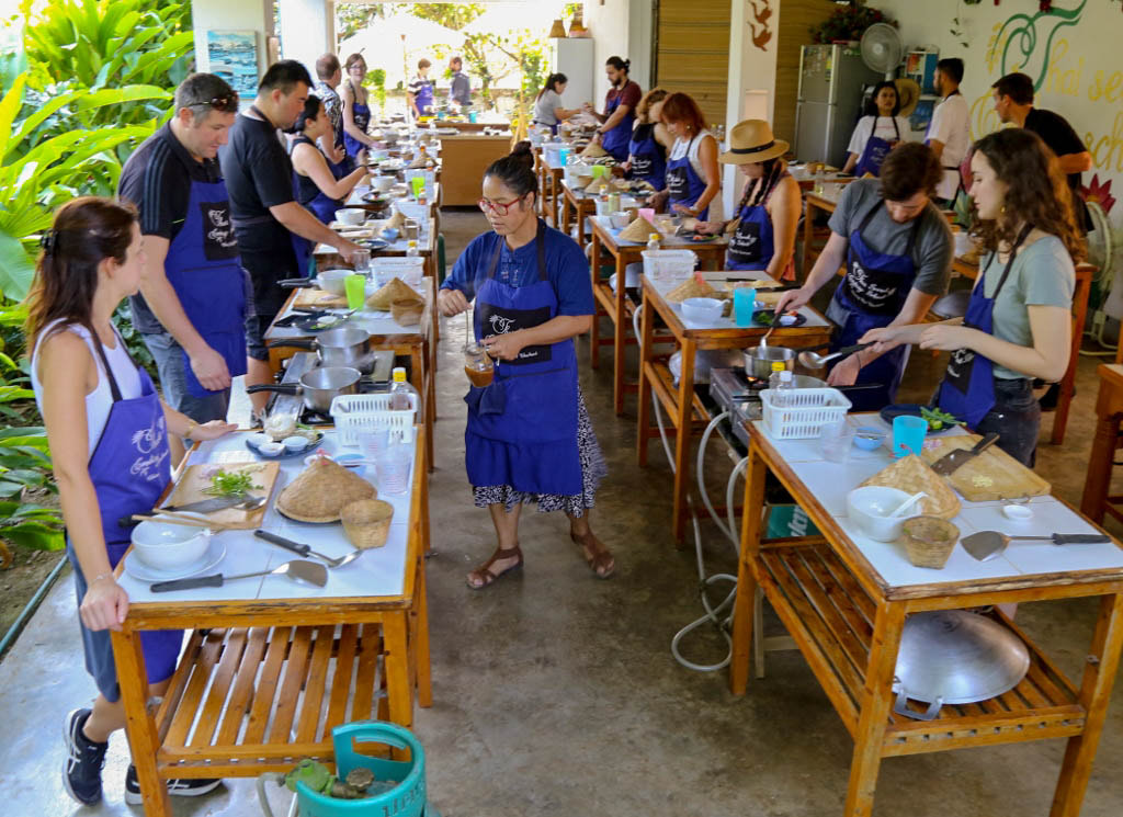 Thai Secret Cooking School & Organic Garden Farm