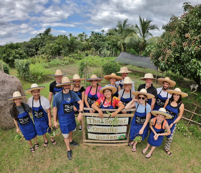 Thai Secret Garden and cooking Class