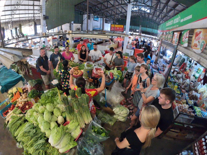 Thai Secret Cooking Class Market Tour ~ June 30-2018