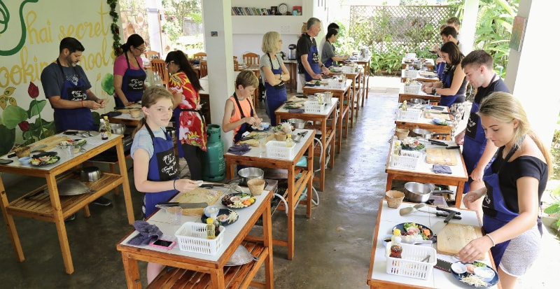 Thai Secret Cooking Class ~ June 30-2018