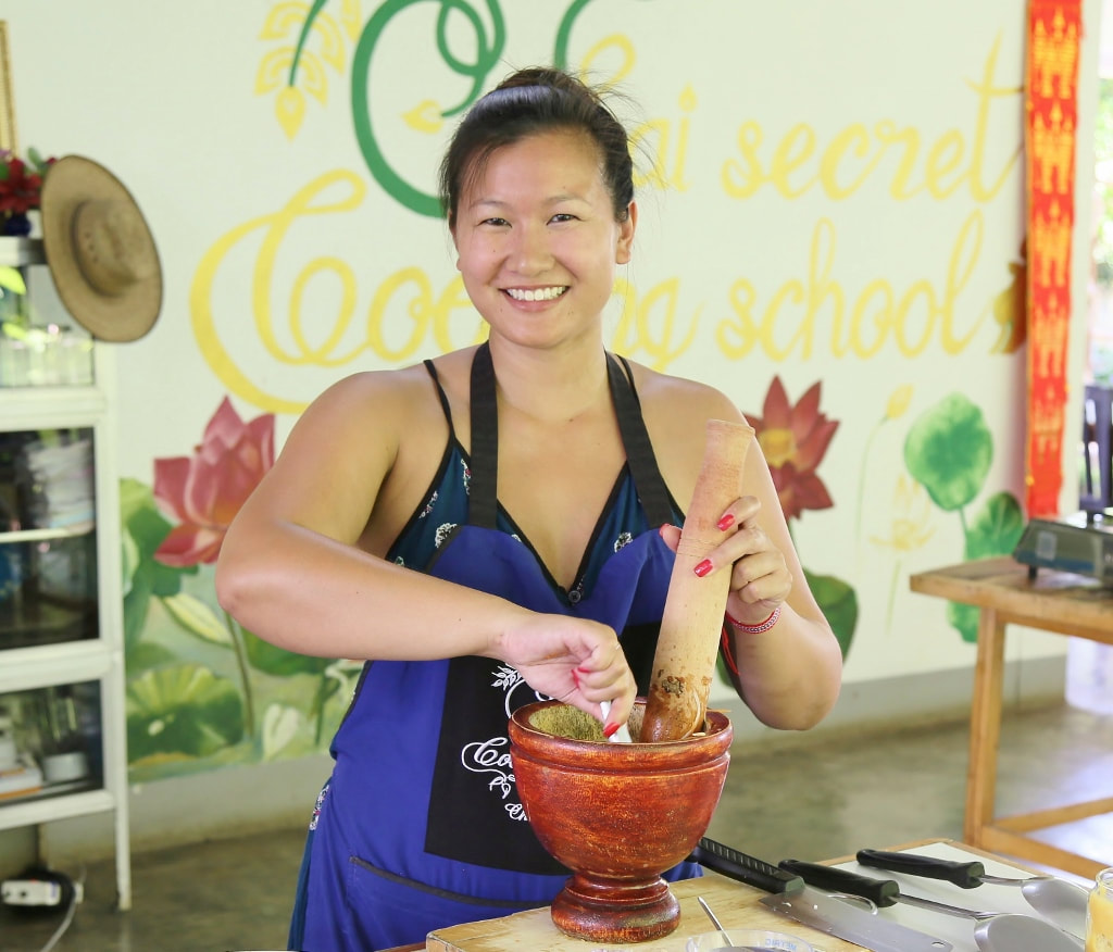 Thai Secret Cooking Class: September 20th, 2017 Chiang Mai, Thailand.