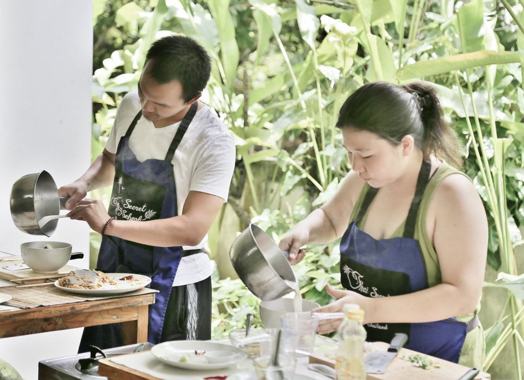 Thai Cooking Class Photo from August 17-2017