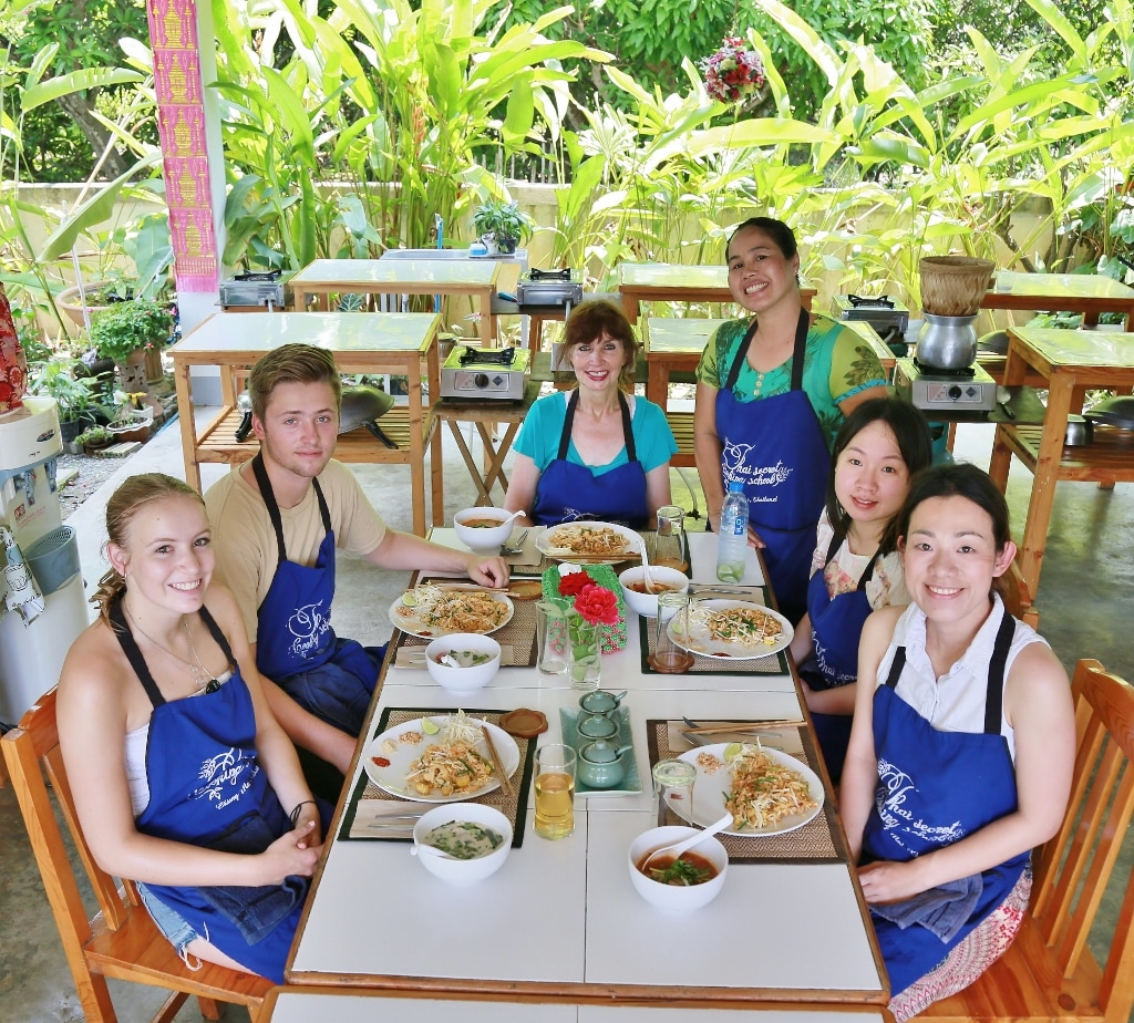 Thai Secret Cooking Class Photo. May 4-2017 Chiang Mai, Thailand.