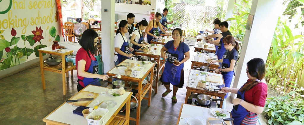 Thai Secret Cooking Class: September 12th, 2017 Chiang Mai, Thailand.