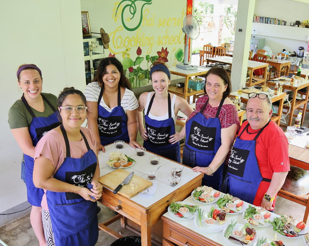 Thai Cookbook Class Photos from September 5-2017 Popular and Personalized Every day! www.Chiang-Mai-Cooking-School.com
