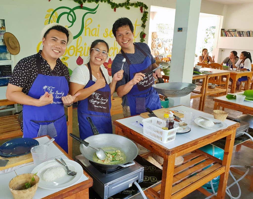 Thai Secret Cooking School. September 6-2018