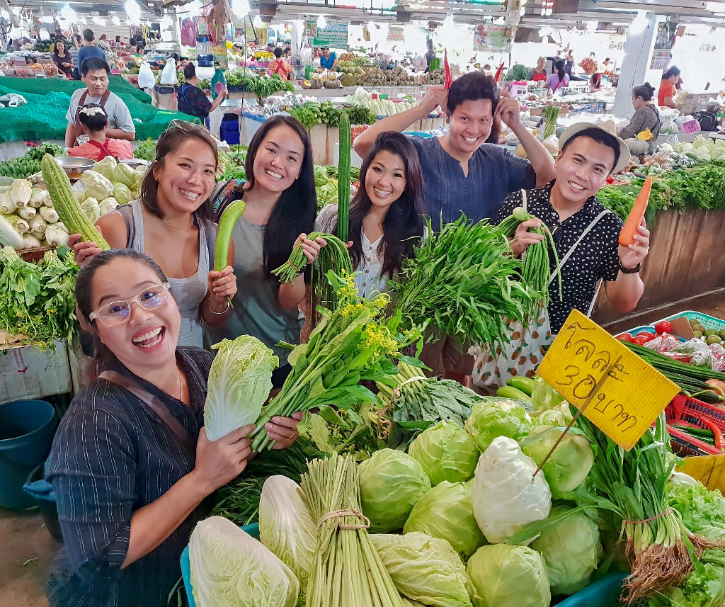 Thai Farmers Market Tour with May. September 6-2018