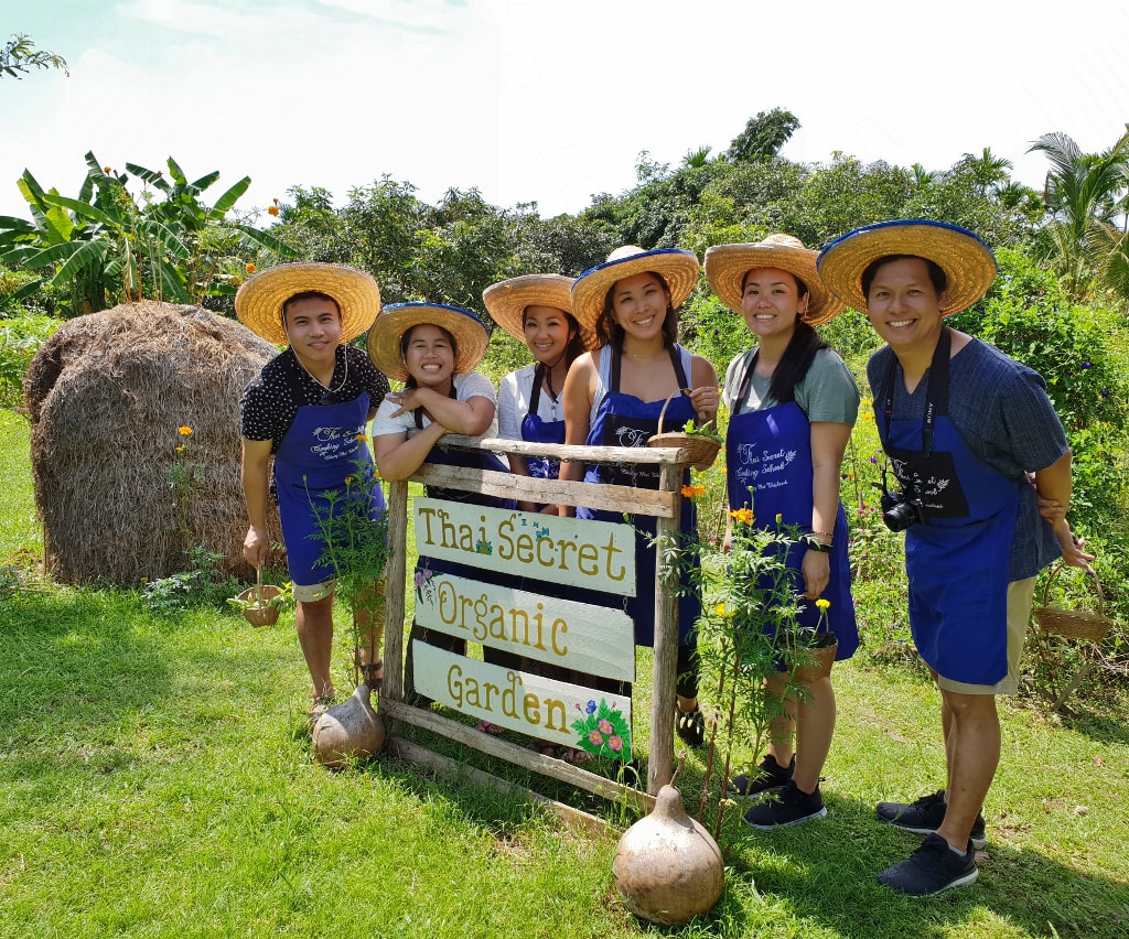 Thai Secret Cooking School & Organic Garden. September 6-2018