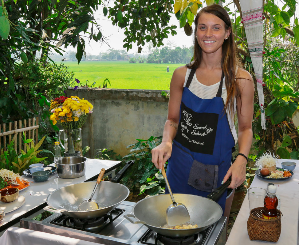 Thai Secret Cooking School and Organic Garden. March 25-2018