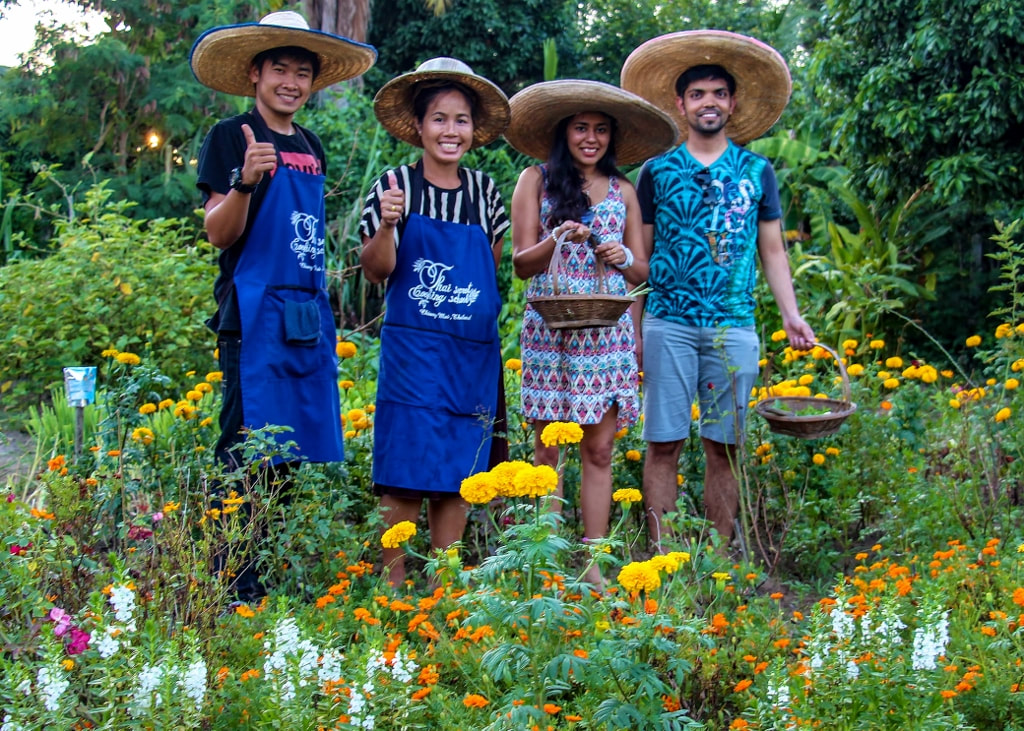 Thai Secret Cooking School and Organic Garden Farm October 20 - 2015