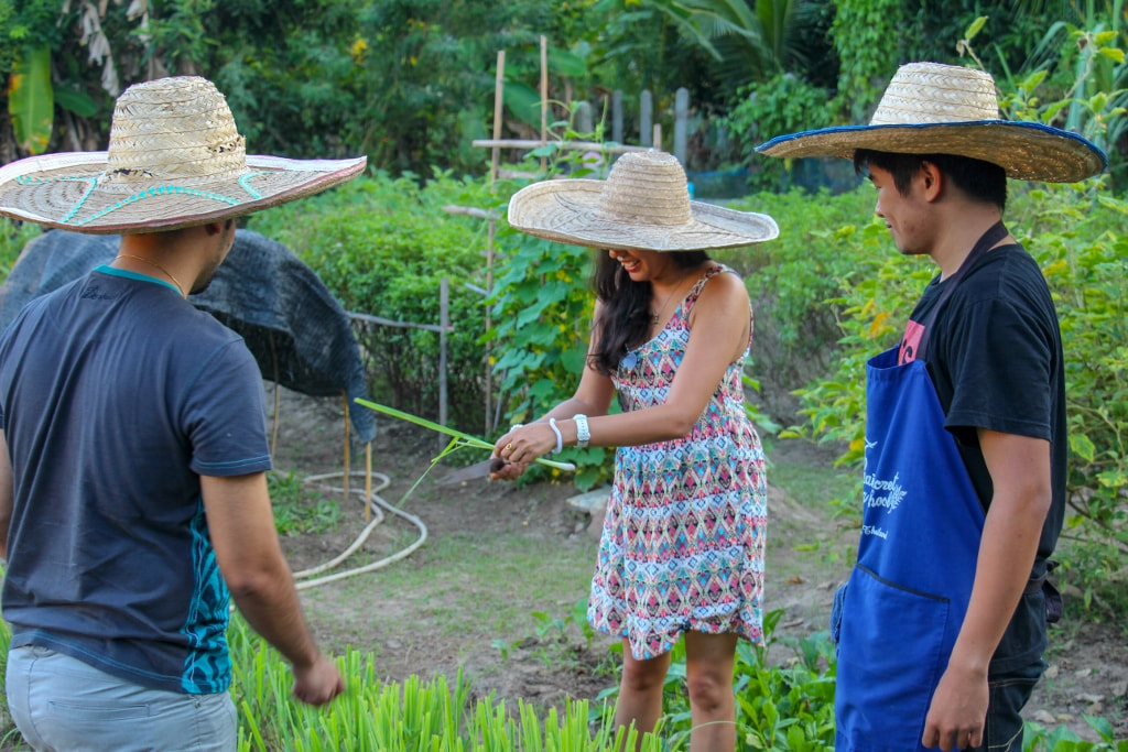 Thai Secret Cooking School and Organic Garden Farm. October 20 - 2015