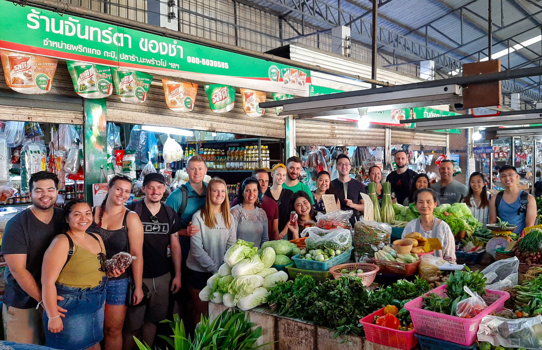 Thai Secret Cooking Class Market Tour. 23 December 2019